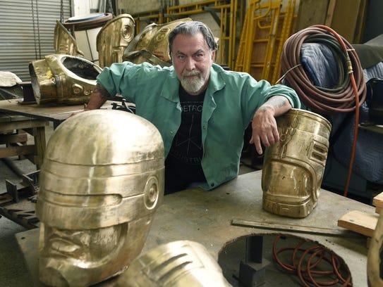 Giorgio Gikas, president of Venus Bronze Works Inc.,
