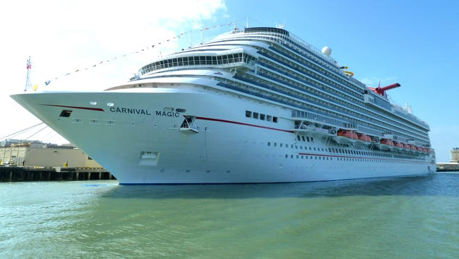 Introduced with its namesake ship, the Carnival Dream in 2008, Carnival Cruise Lines' Dream Class trio is its newest and largest cruise ship platform.  The second vessel (Carnival Magic -- shown) and third vessel (Carnival Breeze) represent an important evolution in style for the company.