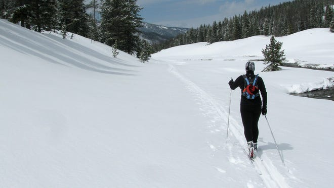 Nordic skiing at Lone Mountain Ranch offers a physical challenge that pays off with amazing views.