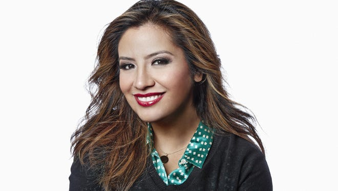 Cristela Alonzo grew up in McAllen, Texas, along the Rio Grande.
