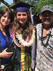 Malina Navarez graduated UNCA at 17 with a degree in