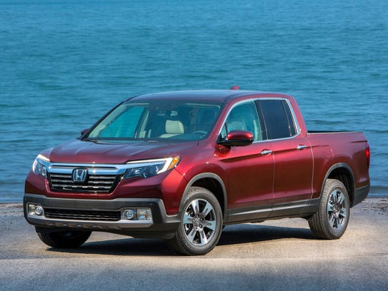 In second place: 2017 Honda Ridgeline