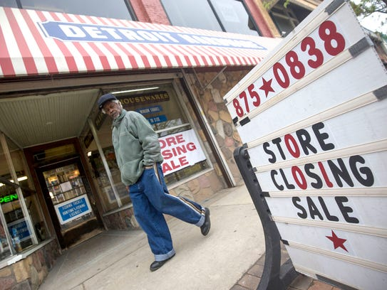 The Detroit Hardware Company on Woodward Avenue in Midtown Detroit will soon be closing its doors.