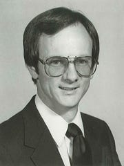 This is a photo of Lee Weems from 1986 when he started his ministry at Emmanuel Baptist Church.