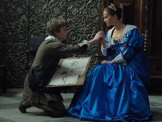 "Dane DeHaan and Alicia Vikander star in ""Tulip Fever."""