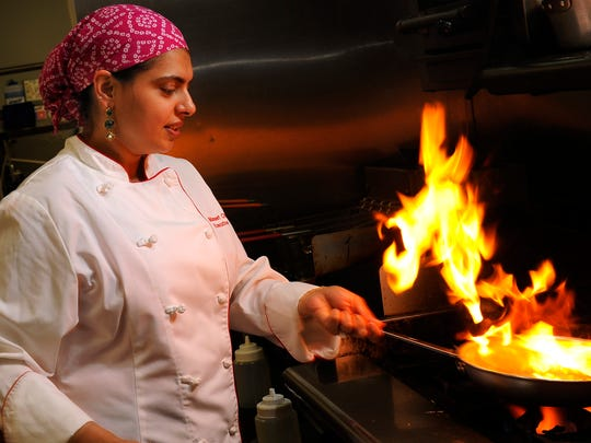 Maneet Chauhan, the executive chef of Chauhan Ale &