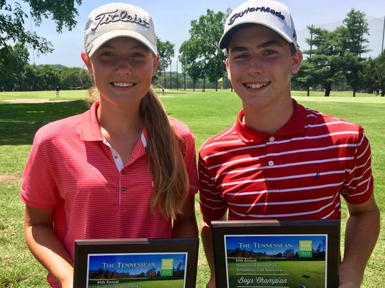 2018 Schooldays girls champion Ashley Gilliam and boys champion Patton Samuels will defend their titles June 4-6 at McCabe Golf Course.