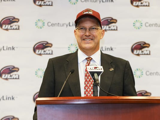 ULM Athletic Director Nick Floyd