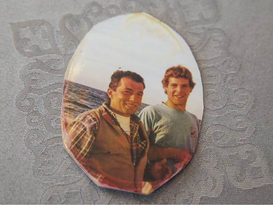 Kevin McGowan, left, is shown in the last known family