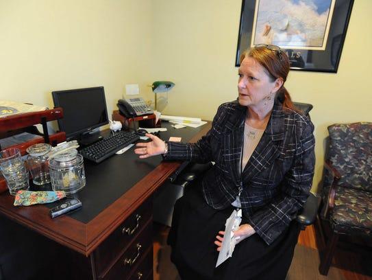 Marion Jones, Mayor of Milton, speaks about Milton's
