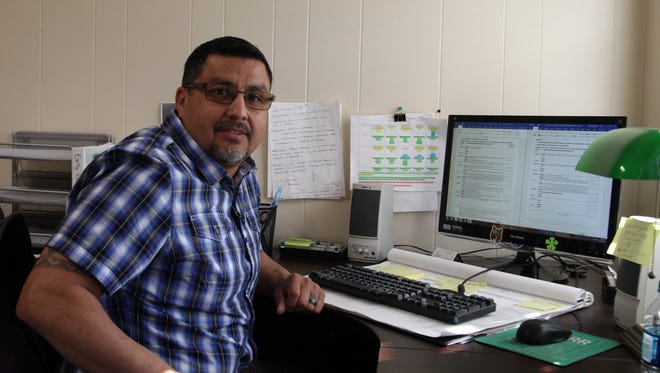 Amando Elizondo, an addiction counselor at Sun Street Centers in Salinas, found it hard to get interviews if he admitted to having a criminal record.