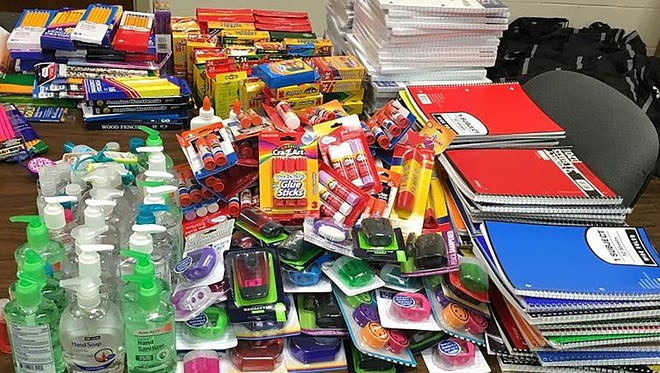 The Gallatin Police Department is giving away about 200 backpacks with school supplies at West Eastland Church of Christ Aug. 4.