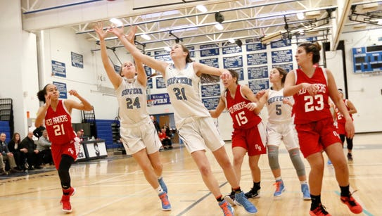 North Rockland defeats Suffern 52-49 in girls basketball