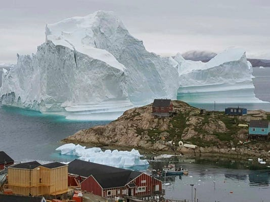 AP CORRECTION GREENLAND ICEBERG I GRL