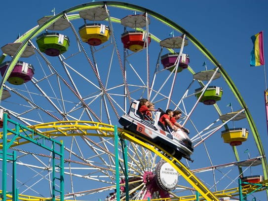 The Maricopa County Fair has all the things kids love: Rides, carnival games, performances and animals.