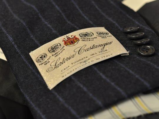 Castangia's label.
