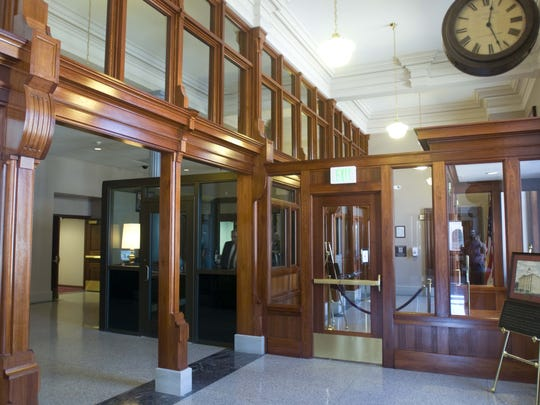 Judge Lawrence Zatkoff led efforts to restore the interior of the Federal Building and U.S. Courthouse in Port Huron.