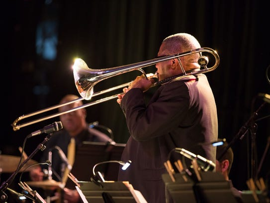 Robert Griffin is part of the TSO Jazz brass section