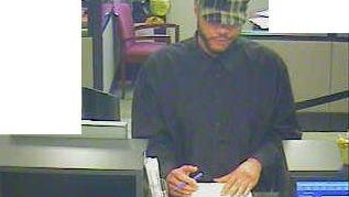Police are searching for this man who robbed the M&T Bank branch on North Union Street.
