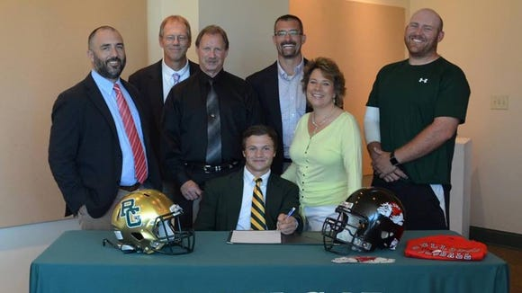 Cashiers resident Hunter Stanley has signed to play college football for Gardner-Webb.