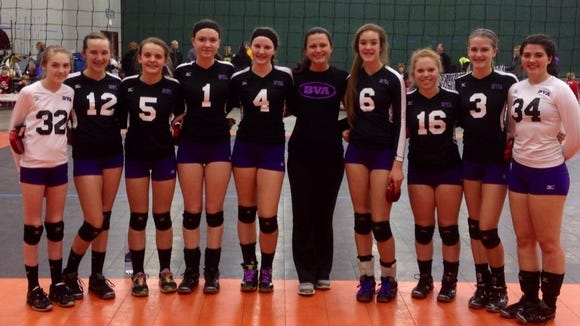 The Biltmore Volleyball Academy 14 national team.