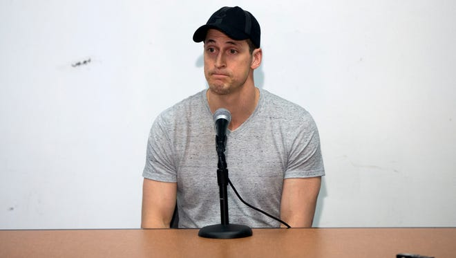 Vincent Lecavalier doesn't know if he'll return to the Flyers next season or not.