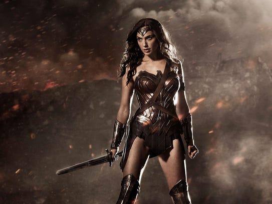 """She's a wonder, """"Wonder Woman"""" (Gal Gadot)."""