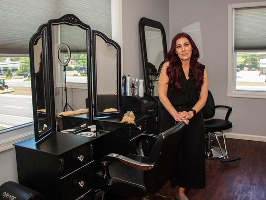 Michelle Cleveland owns Hair Addict Salon & Extension