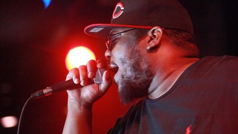 Rapper Beanie Sigel performs on Aug. 16, 2012, in New York City.