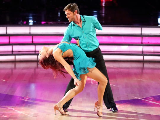 "Noah Galloway with Sharna Burgess on ""Dancing With"