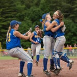 Maine-Endwell defeated Clarke 6-5 in the Class A softball state chapionship game in South Glens Falls on Sunday, June 12.