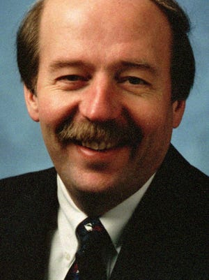 1997 file photo of former Speaker of the House Curtis Hertel who has started work on Monday, Jan. 25, 1999, in Lansing, Mich., as a lobbyist for Public Affairs Associates of Lansing. (AP Photo/FILE)