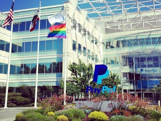 PayPal's headquarters is in San Jose, Calif.