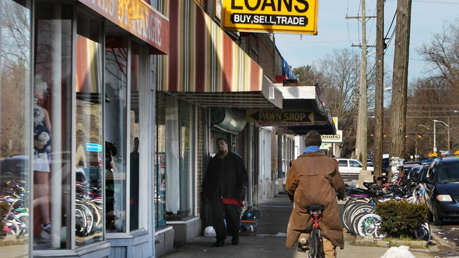 This area just north of Illinois and West 38th streets is getting $375,000 in Community Development Block Grant funds to enhance shop exteriors. About $5 million in TIF money for various improvements at nearby Tarkington Park has been proposed.