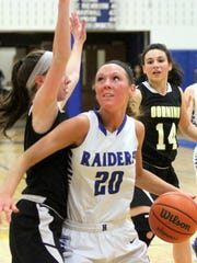 Marlea Nolan of Horseheads gets set to shoot against