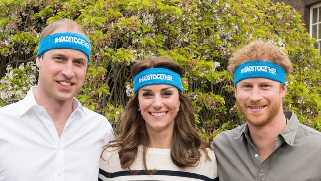 Prince William, Kate Duchess of Cambridge and Prince Harry