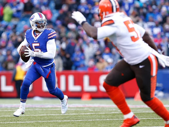 Tyrod Taylor was with Baltimore in 2014, the year Buffalo's