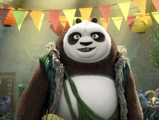Party loving panda Li (voiced by Bryan Cranston) has
