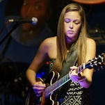 Tallahassee guitar goddess Heather Gillis, 20, takes the stage with The Heather Gillis Band at on Friday at the Bradfordville Blues Club.