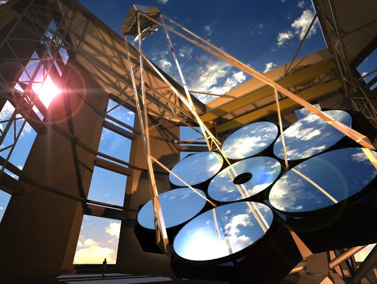 The lenses for the Giant Magellan Telescope  at the