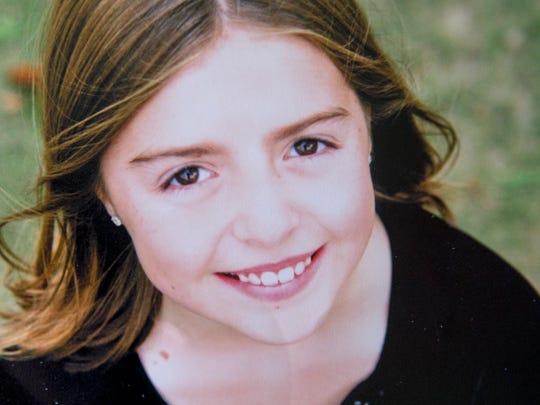 Alyssa Schrenker, approximately 10-years-old.