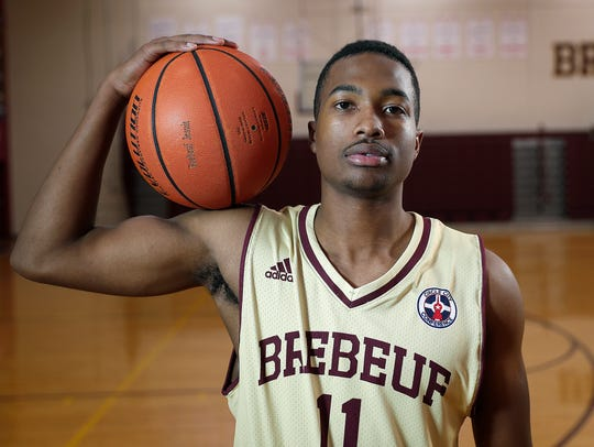 Myja White, Brebeuf Jesuit High School, a member of