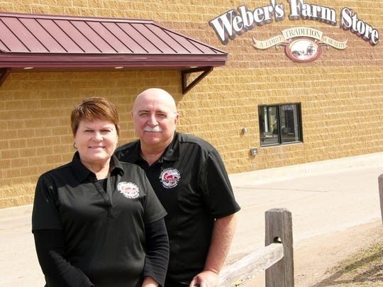 Joellen and Ken Heiman of Marshfield, Wisconsin, are co-hosts of the 2018 Wisconsin Farm Technology Days in Wood County, Wisconsin. The Heimans operate Weber's Farm Store, which was started by Joellen's parents in 1955.