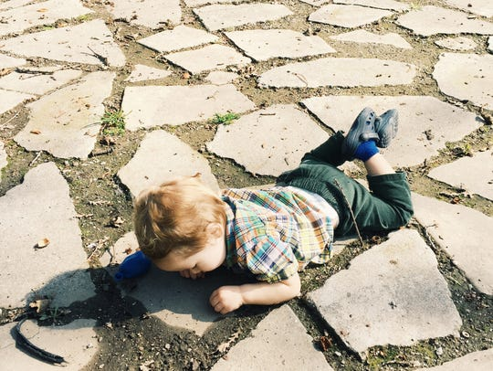 Sometimes a tantrum turns into an opportunity to examine