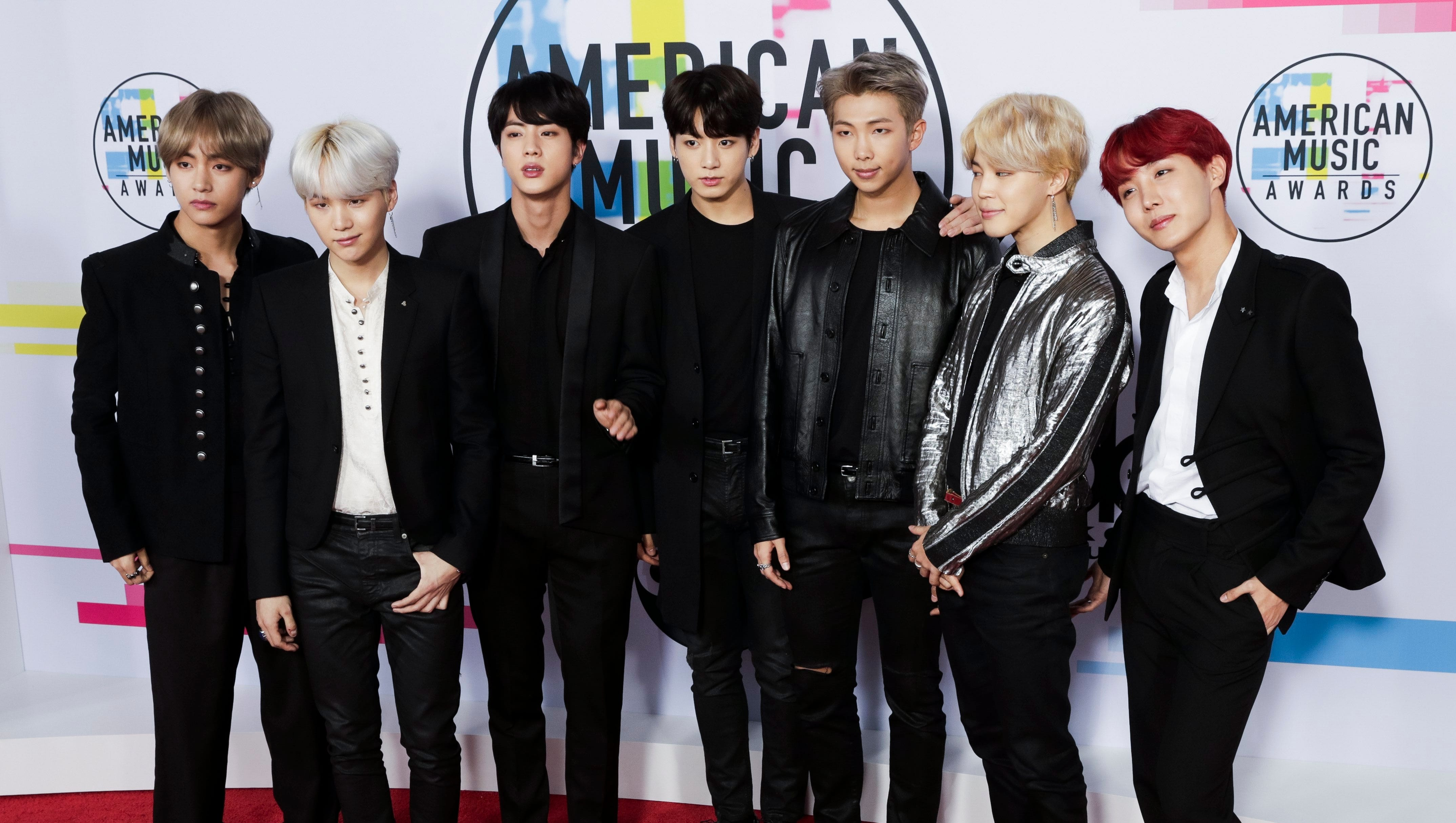 Who Are K Pop Band Bts The Most Tweeted About Celebrities This Year
