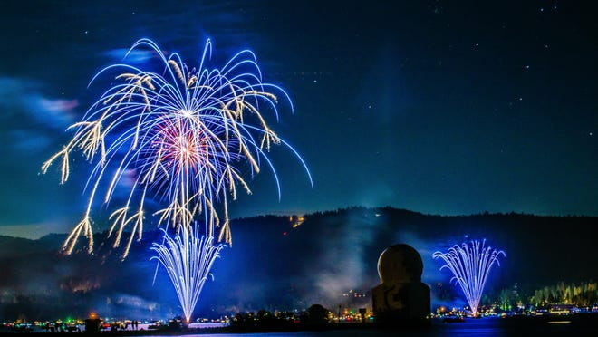For a unique treat, get an up-close view of Big Bear's fireworks from a boat right on the lake.