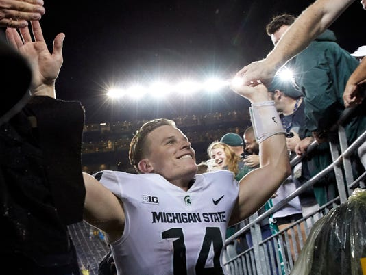 Lewerke at Michigan (Couch column)