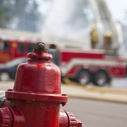 A south-side fire engulfed a mobile home Monday night.
