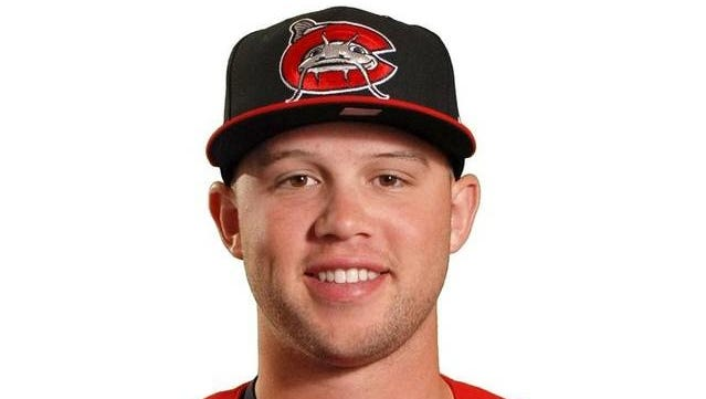 Roberson graduate Braxton Davidson is an outfielder for the Single-A Carolina Mudcats.