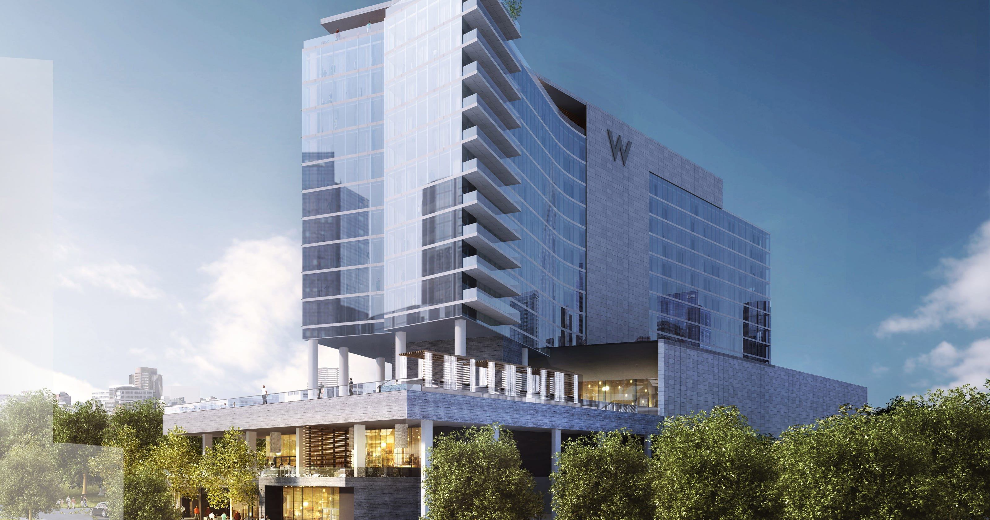 W Hotel In Nashville S Gulch Planned By Mariott